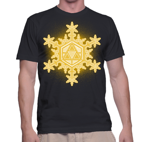 Triforce Snowflake T-Shirt