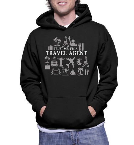 Trust Me, I'm A Travel Agent Hoodie