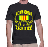 Vietnam Veteran Four Decades Of Sacrifice T-Shirt