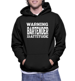 Warning Bartender With An Attitude Hoodie