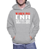 Warning CNA With An Attitude Hoodie