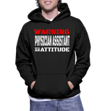 Warning Physician Assistant With An Attitude Hoodie
