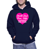 World's Best Mom, Wife, Bartender Hoodie
