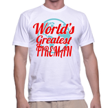World's Greatest Fireman T-Shirt