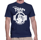 Yes I'm A Train Driver No I Don't Collect Tickets T-Shirt