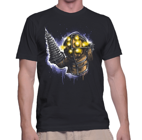 Big Daddy Portrait T-Shirt