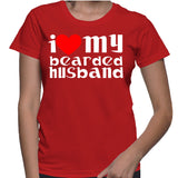 I Love My Bearded Husband T-Shirt