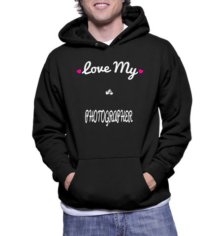 Love My Photographer Hoodie
