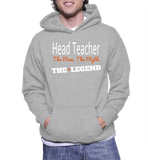 Head Teacher The Man, The Myth, The Legend Hoodie