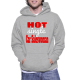 Hot Single Car Saleswoman Hoodie