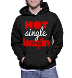Hot Single Veterinary Nurse Hoodie