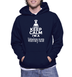 I Can't Keep Calm I'm A Veterinary Nurse Hoodie