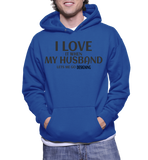 I Love It When My Husband Lets Me Go Designing Hoodie