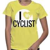 I Love My Cyclist T-Shirt