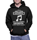 I Am A Music Director Grandpa Just Like A Normal Grandpa Except Much Cooler Hoodie