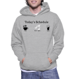 Today's Schedule(Music) Hoodie