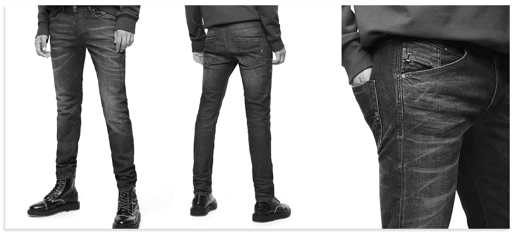 Diesel Belther Tapered Fit Jean
