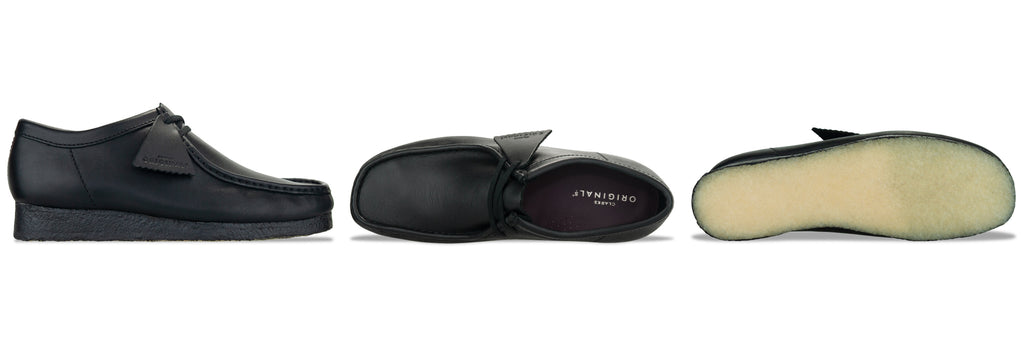 Clarks Originals Wallabee in Black Leather