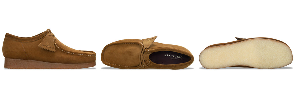 Clarks Originals Wallabee in Cola Suede