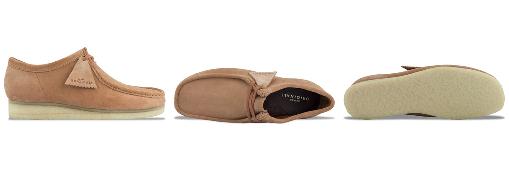 Clarks Originals Wallabee in Sandstone Suede