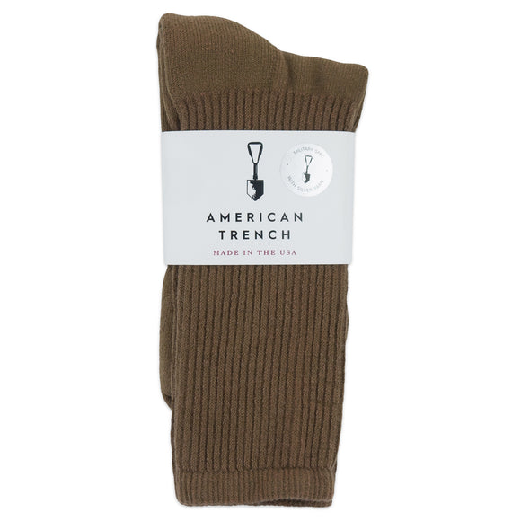 American Trench Mil-Spec 1013 Socks - Coyote - Arena Menswear