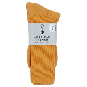 American Trench Mil-Spec 1013 Socks - Yellow - Arena Menswear