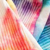 American Trench Tie Dye Crew Socks - Sunset - Arena Menswear