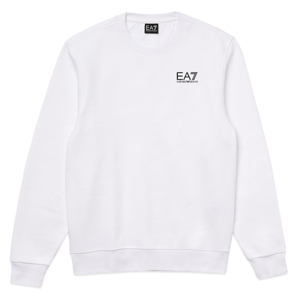 Armani EA7 Core ID Crew Sweat - White
