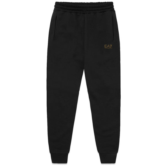 Armani EA7 Core ID Skinny Joggers - Black / Gold Badge