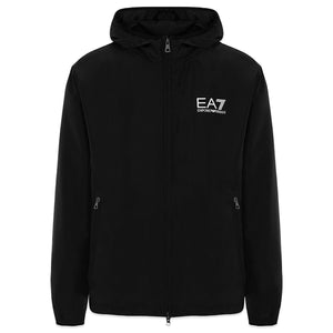 Armani EA7 Hooded Wind Stopper Jacket - Black