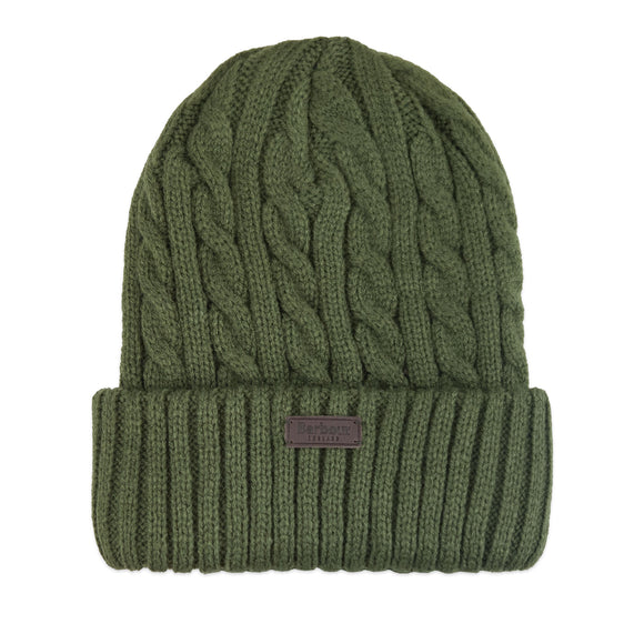 Barbour Balfron Knit Beanie - Olive