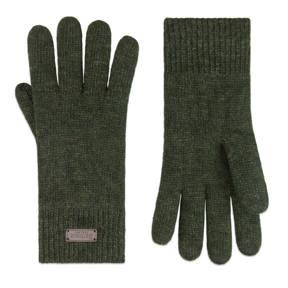 Barbour Carlton Gloves - Dark Green