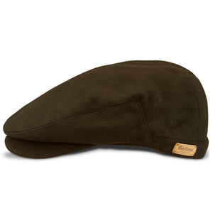 Barbour Redshore Flat Cap - Forest Green