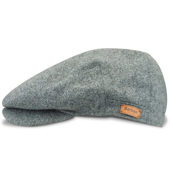 Barbour Redshore Flat Cap - Grey - Arena Menswear