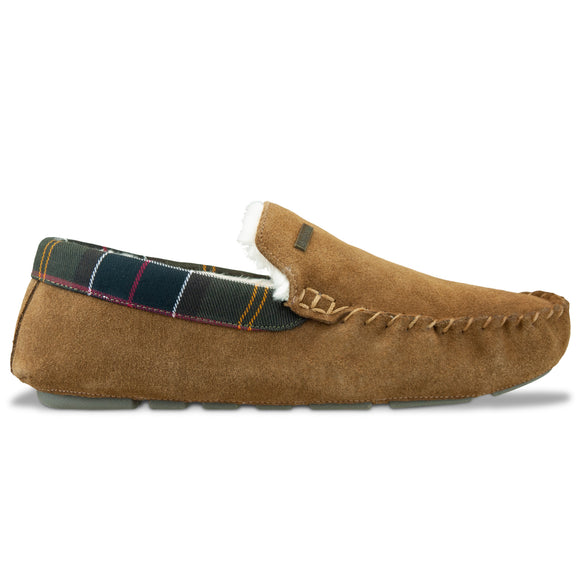 Barbour Monty Slipper - Camel - Arena Menswear