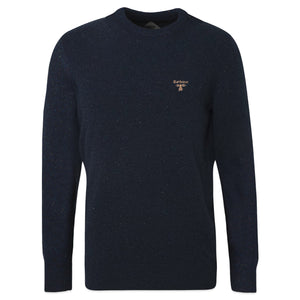 Barbour Beacon Roan Wool Crew Knit - Navy
