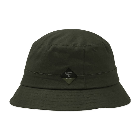Barbour Beacon Wax Sports Hat - Olive