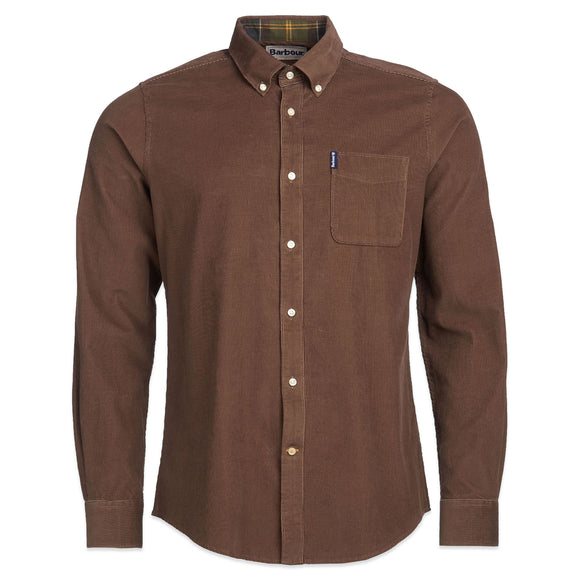 Barbour Cord 2 Tailored Shirt - Brown