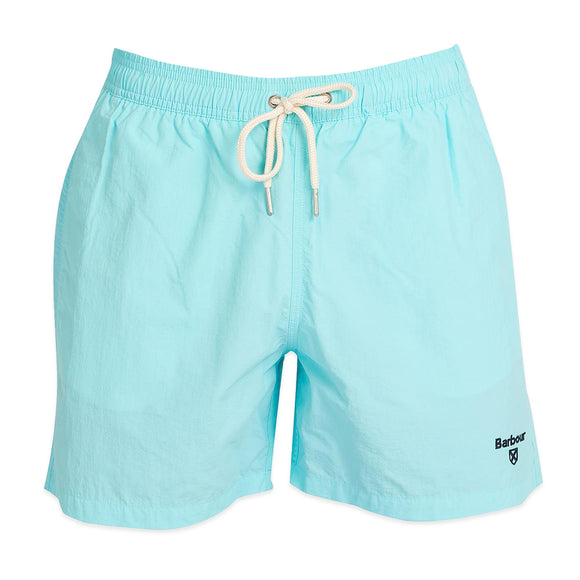 Barbour Essential Logo Swim Short - Aqua