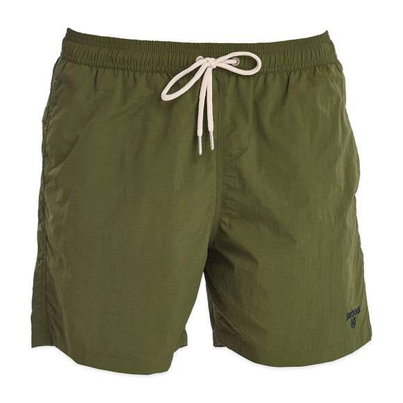 Barbour Essential Logo Swim Short - Olive