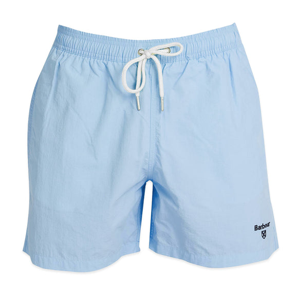 Barbour Essential Logo Swim Short - Powder Blue