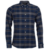 Barbour Highland Check 19 Tailored Shirt - Grey Marl
