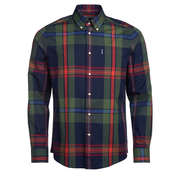Barbour Highland Check 33 Tailored Shirt - Navy