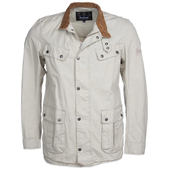 Barbour International Summer Washed Duke Jacket - Clay