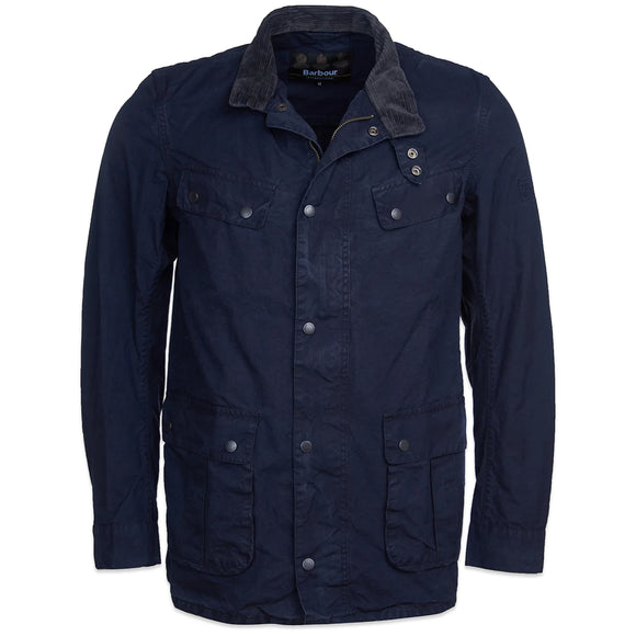 Barbour International Summer Washed Duke Jacket - Navy