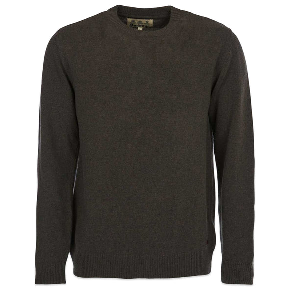 Barbour Nelson Crew Knit - Seaweed