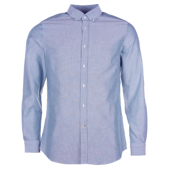 Barbour Oxford Tailored Shirt - Indigo
