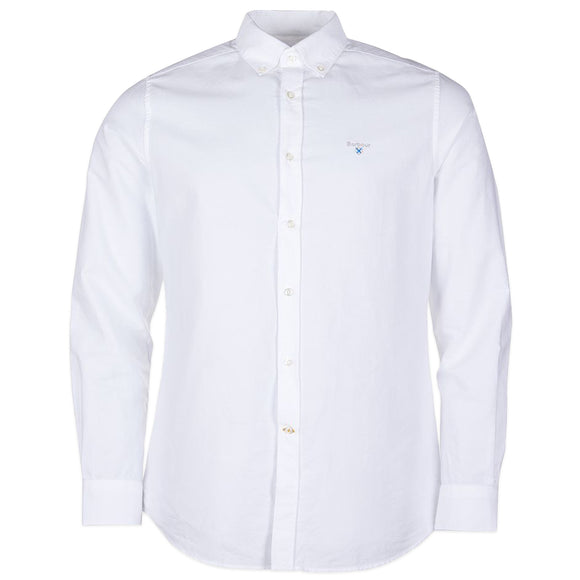 Barbour Oxford Tailored Shirt - White