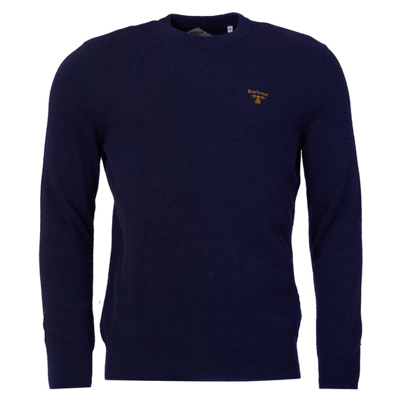 Barbour Beacon Logo Crew Neck Jumper - Royal Blue