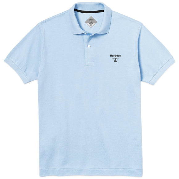 Barbour Beacon Polo - Light Blue